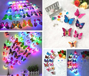 (Only Discount Today)LED colorful butterfly night light(Buy 40pcs Free Shipping)