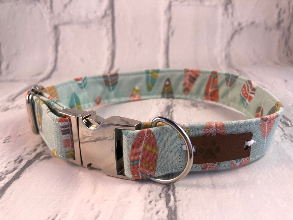 Feathers Fabric Collar