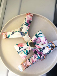 Watercolour Floral Strap Harness