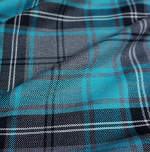 Load image into Gallery viewer, Blue Tartan Fabric Collar