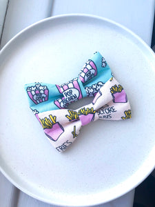 Fries before guys Fabric Bow tie