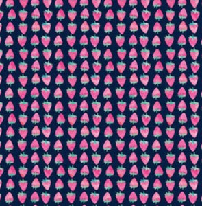 Berry Cute Fabric Lead