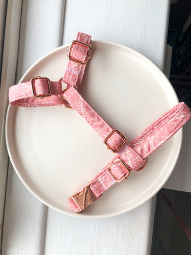 Branching out in Pink Fabric Strap Harness