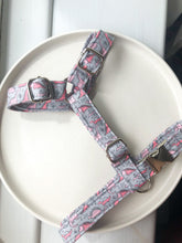 Load image into Gallery viewer, Dachshund size summer collection fabric strap harness