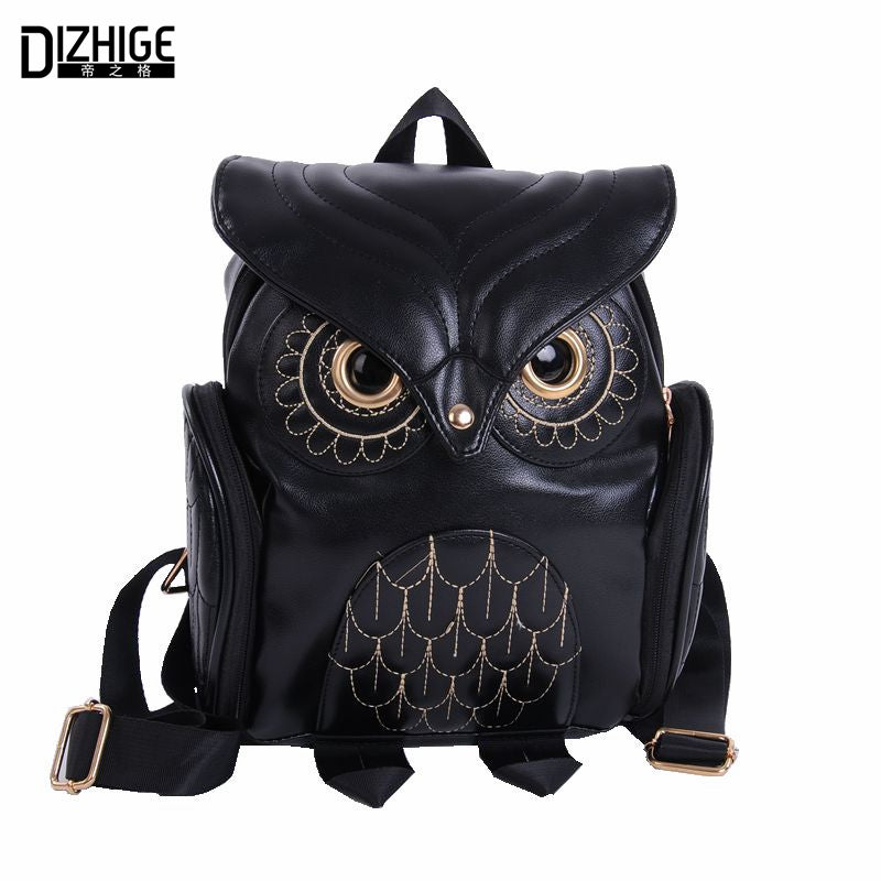 Fashion Cute Owl Backpack for Women
