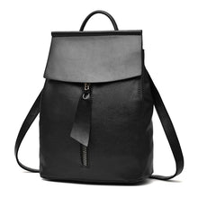 Women Leather Backpack Minimalist Style