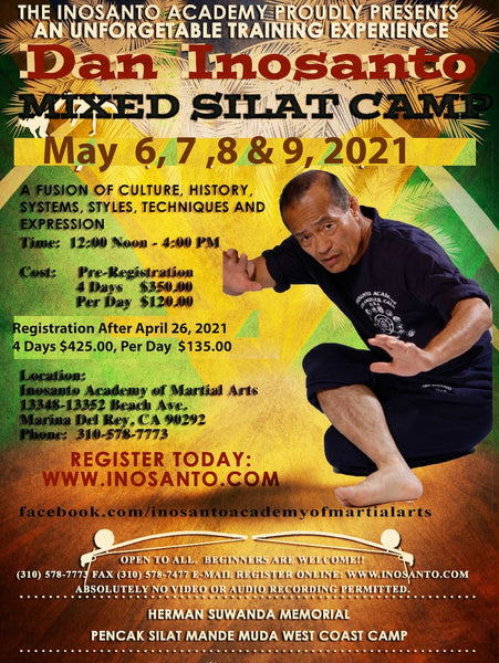 20210506 Mixed Silat Camp - Inosanto Academy