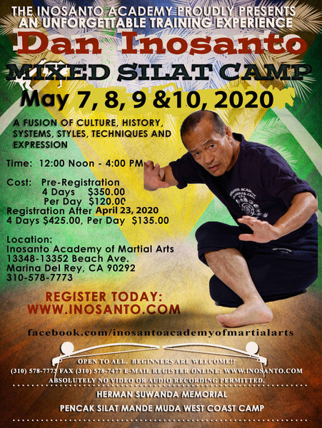 20200507 Mixed Silat Camp - Inosanto Academy