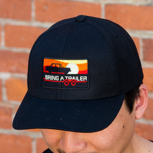 Black 2002 Sunset Hat