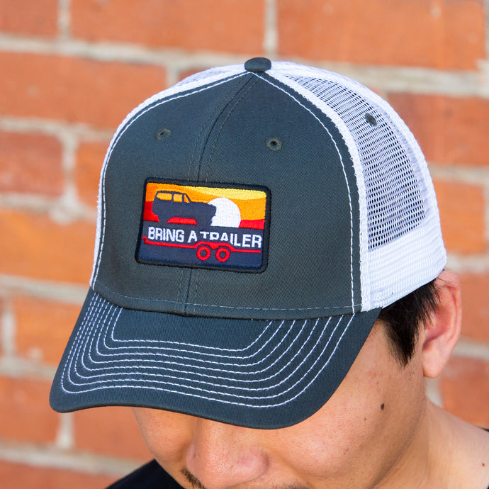 Gray Scout Trucker Hat