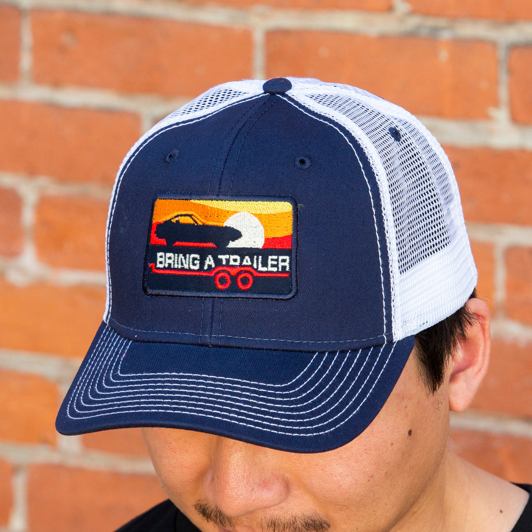 Navy 240Z Sunset Trucker Hat