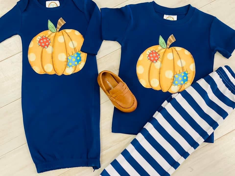 PRE-SALE Patch Pumpkin Gown & Shirts