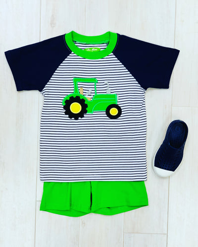 Be Mine Tractor Shortset