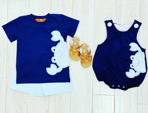 Millie Jay Boy Crab Short Set