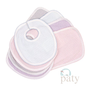 Paty Bib and Burp Set