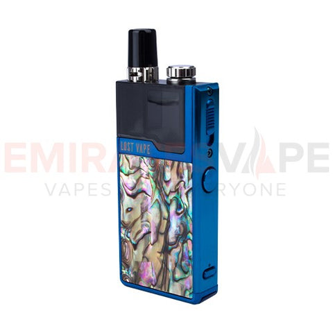 Lost Vape - Orion DNA Go – Blue/Mexican Abalone Limited - 40W AIO Pod System