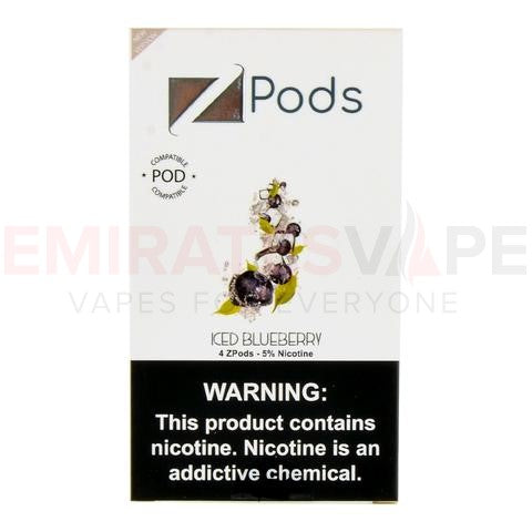 ZIIP Pods (Iced Blueberry flavor) - 50MG