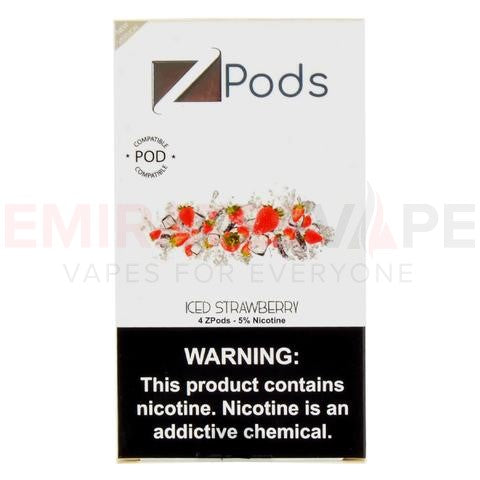 ZIIP Pods (Iced Strawberry flavor) - 50MG