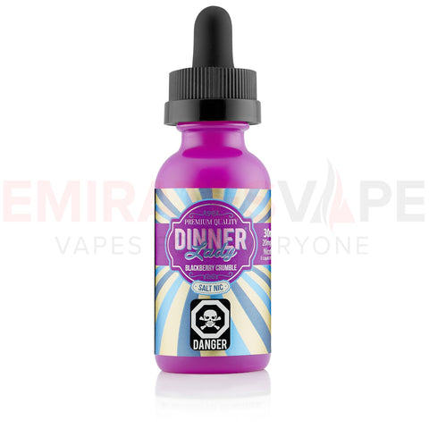 Dinner Lady - Summer Hollidays - Blackberry Crumble - 30ml