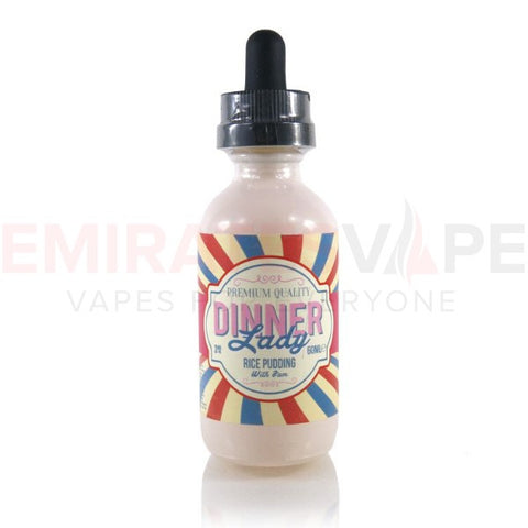 Dinner Lady - Summer Hollidays - Rice Pudding - 60ml