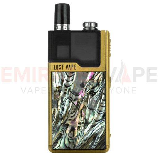 Lost Vape - Orion DNA Go – Gold Abalone - 40W AIO Pod System