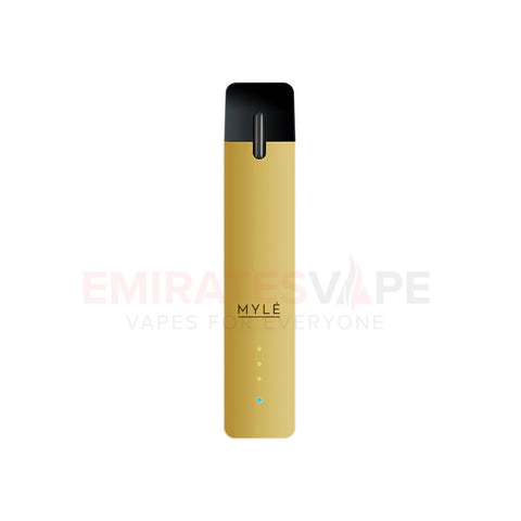 MYLE Ultra Portable Pod System (Gold) - only the device