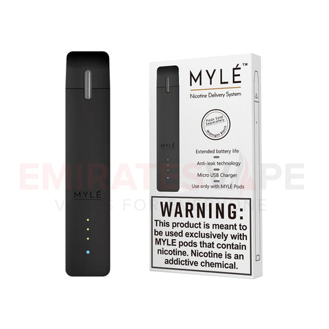 MYLE Ultra Portable Pod System (Black) - only the device