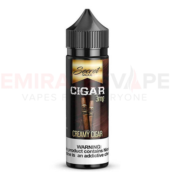 Secret Sauce E-Liquids - Cigar - 60ml