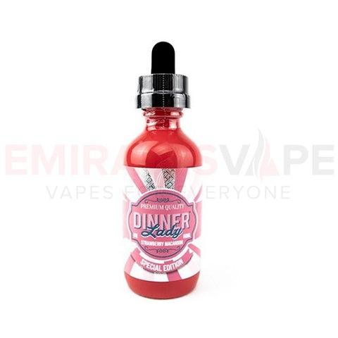 Dinner Lady - Summer Hollidays - Strawberry Macaroon - 60ml