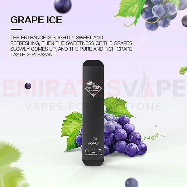 Tug Boat Vape Grape on Ice - 400 Puffs ( Bigger / Better )