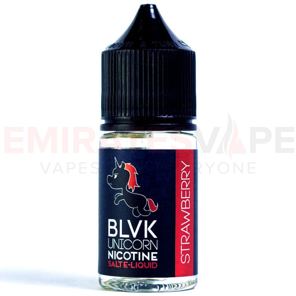 BLVK Unicorn Nicotine Salt E-Liquid - Strawberry - 30ml