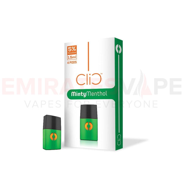 Minty Menthol - Clic Vapors 1.5ml Pods (4 count)