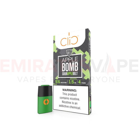 VGOD - Apple Bomb - Clic Vapors 1.5ml Pods (4 count)