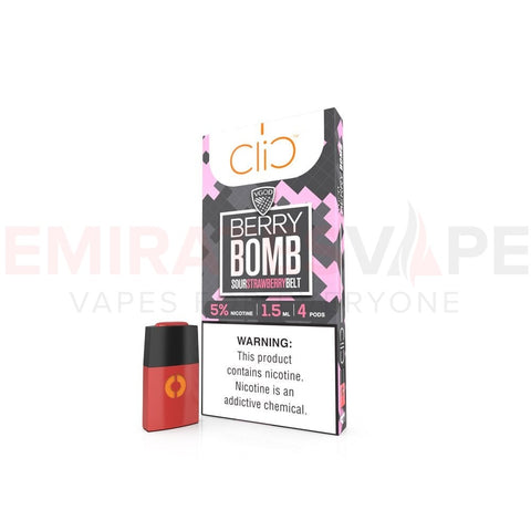 VGOD - Berry Bomb - Clic Vapors 1.5ml Pods (4 count)