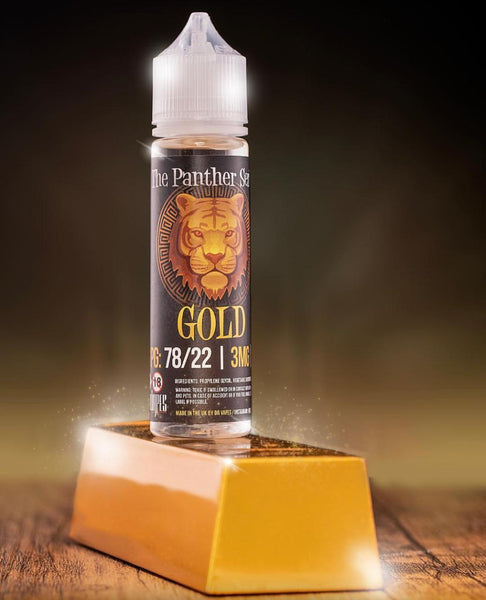 The Panther Series - Gold - 60ML - 3MG