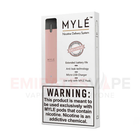 MYLE Ultra Portable Pod System (Rose Gold) - only the device