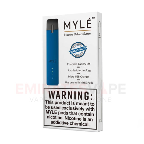 MYLE Ultra Portable Pod System (Blue) - only the device