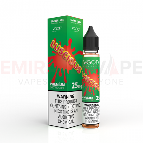 VGOD® and SaltNic eJuice - Luscious SaltNic - 30ml