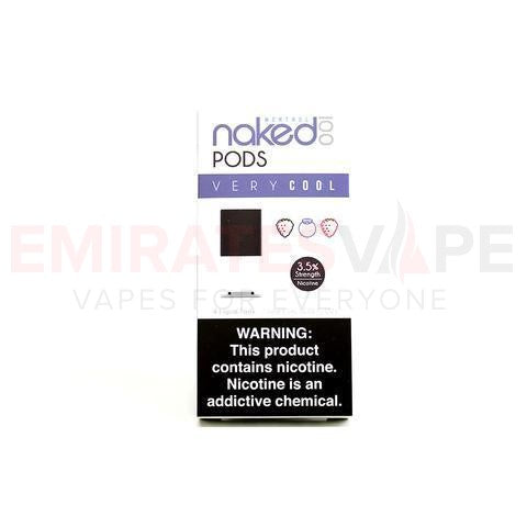 Schwartz - Naked 100 Pods - Very Cool Pods (4 / Pack) - 35mg