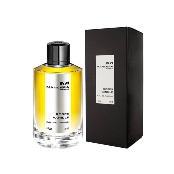 Mancera Roses Vanille For Her Eau De Parfum for Women 120ml - O2morny.com
