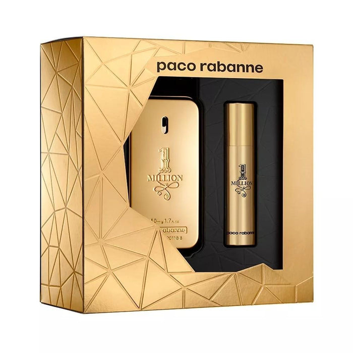 Paco Rabanne One Million Eau De Toilette 50ML + Eau De Toilette 10ML - O2morny.com