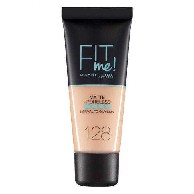 Maybelline New York Fit Me Matte & Poreless Foundation - 128 Warn Nude