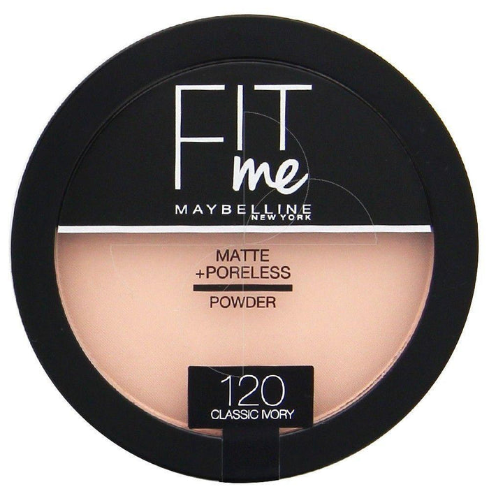 Maybelline New York Fit Me Matte & Poreless Powder – 120 Buff Beige - O2morny.com