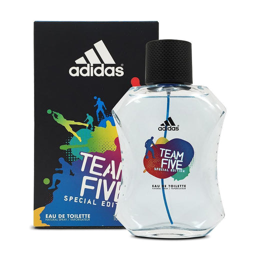 Adidas Team Five Eau De Toilette for Men 100ml
