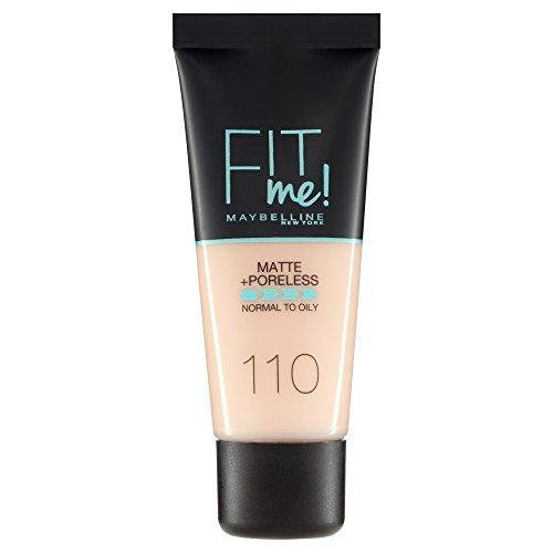 Maybelline New York Fit Me Foundation - 110 Natural Beige - O2morny.com