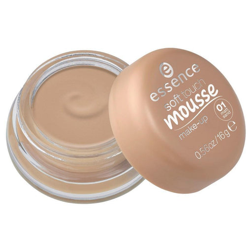 essence soft touch mousse make-up 01 16g - O2morny.com