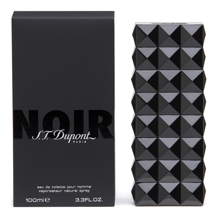 S.T. Dupont Noir Eau De Toilette for Men 100ml - O2morny.com