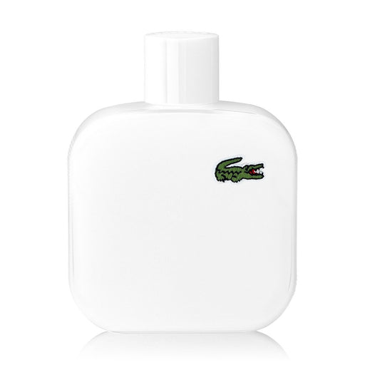 Lacoste white Eau De Toilette for Men 100ml - O2morny.com