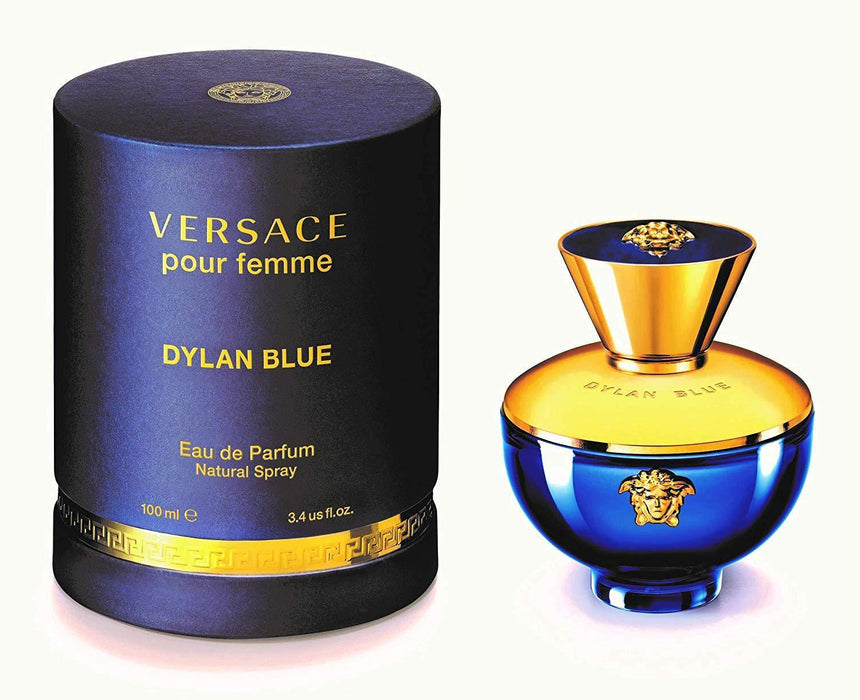 Versace Dylan Blue Pour Femme Perfume Eau De Parfum for Women 100ml - O2morny.com