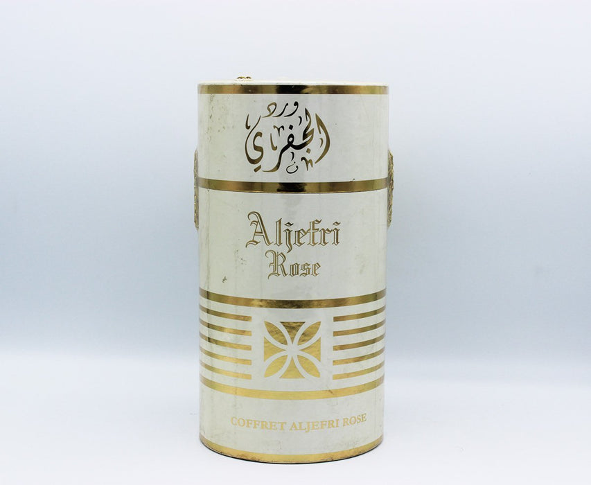 Coffret ALJefri Rose 80ml Body Lotion + 50ml Parfume + 80ml Shower Gel EDP for men - O2morny.com